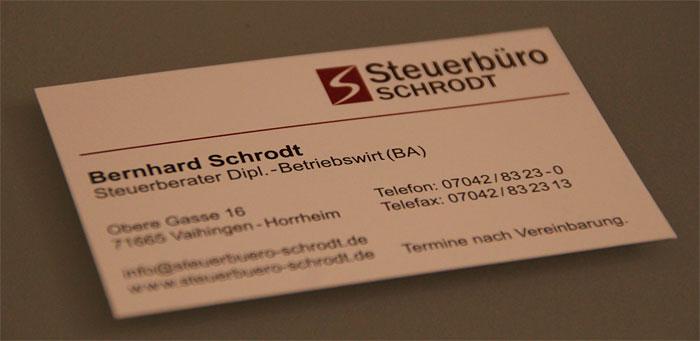 Logo vom Steuerbüro Schrodt